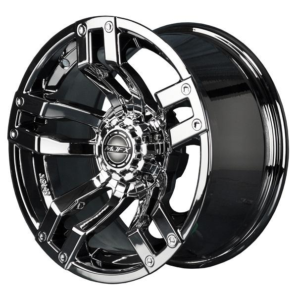 12x7 MJFX Chrome Velocity Wheel