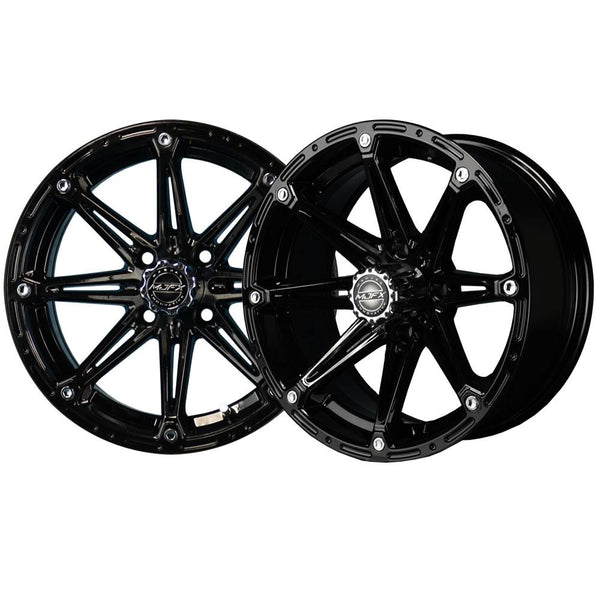 14x7 MJFX Black Element Wheel