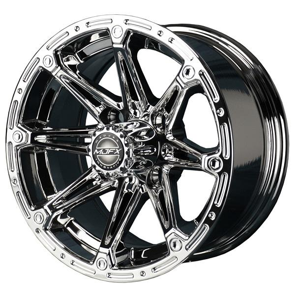 12X6 MJFX Chrome Element Wheel
