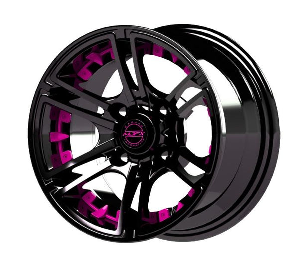 MJFX Pink Wheel Inserts for 10x7 Mirage Wheel