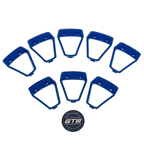 GTW Blue Wheel Inserts for 12x7 Nemesis Wheel