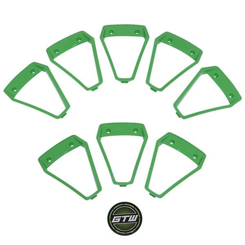 GTW Green Wheel Inserts for 14x7 Nemesis Wheel