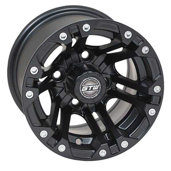 10x7 GTW Matte Black Specter Wheel