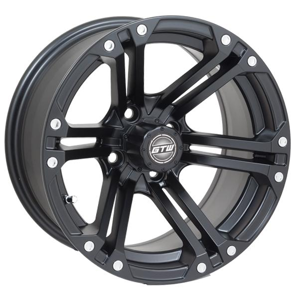 14x7 GTW Matte Black Specter Wheel