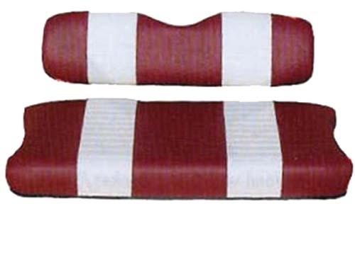 SEAT COVER SET,RED/WHTE,FRONT,CC 79-99