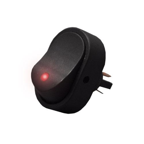 Universal Rocker Switch for Red LED Hazard Lights