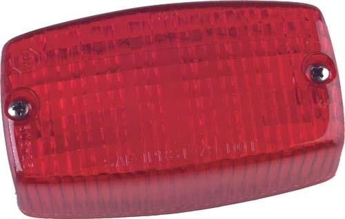 TAIL LIGHT LENS CC/EZGO (306-25R)