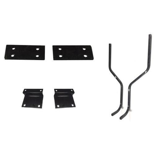 E-Z-GO TXT/T48 Mounting Brackets & Struts for Triple Track Extended Tops with Genesis 300 Seat Kits