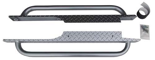 Nerf bar/rocker panel set (Jakes/Gunmetal) EZ Med/TXT