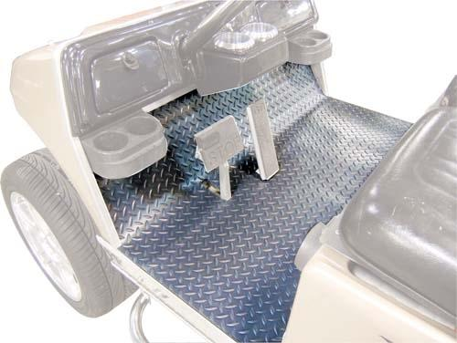 FLOOR MAT COVER CC PRECEDENT DIAMOND PLATE GRAY