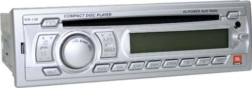 AM/FM/CD PLAYER WATER RESISTANT MARINE GRA