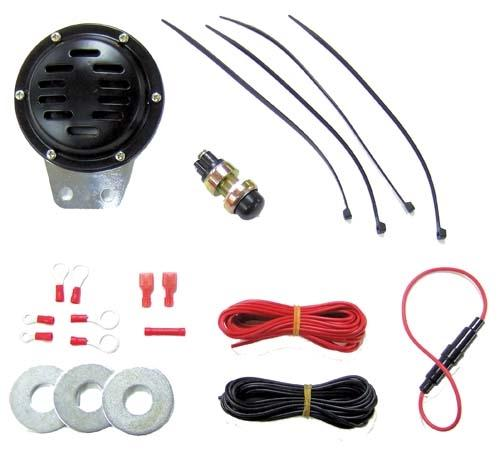 Universal 12V Electric Horn Kit