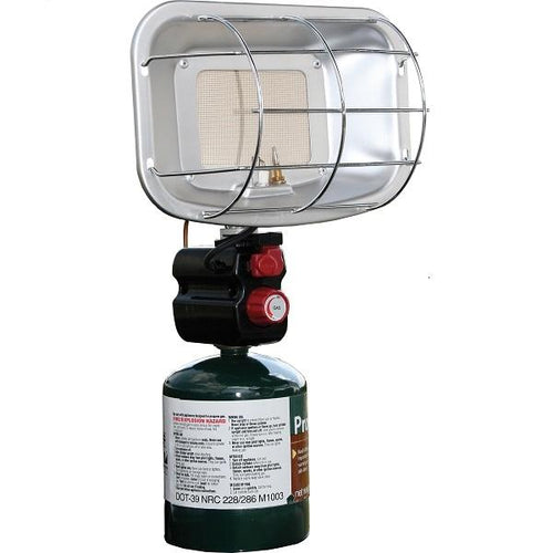 Portable Propane Heater - Piezo-Ignited