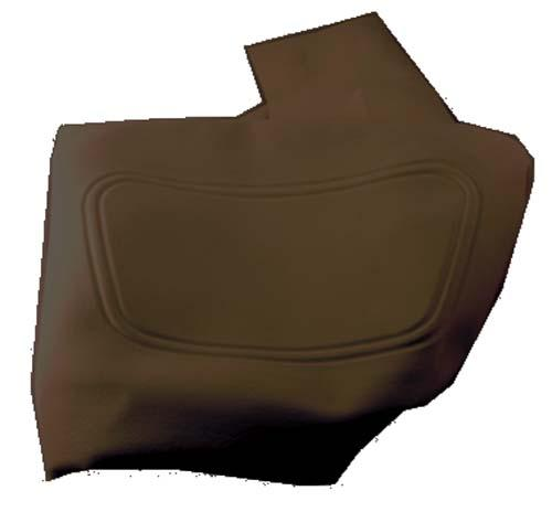 SEAT BACK COVER BLK CC 04-UP PREC