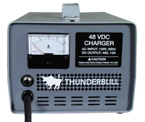 48V/20A THUNDERBULL CHARGER WITH EZGO POWERWISE PLUG