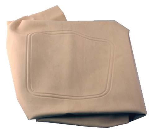 SEAT BOTTOM COVER, STONE BEIGE EZGO RXV 08+