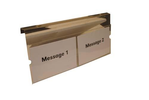 MESSAGE HOLDER, DOUBLE EZ RXV