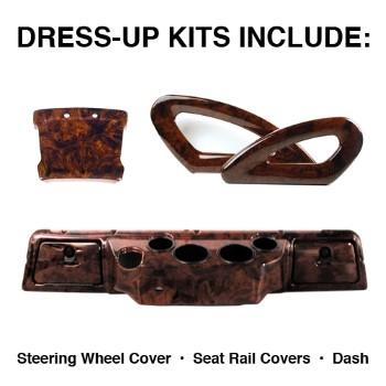 DRESS-UP KIT, CC DS 2000-UP, BURL