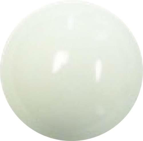 "SHIFTER KNOB (WHITE) 3/8-24. 1/2"" thread"