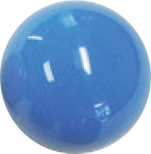 "SHIFTER KNOB-(BLUE) 3/8-24. 1/2"" thread"