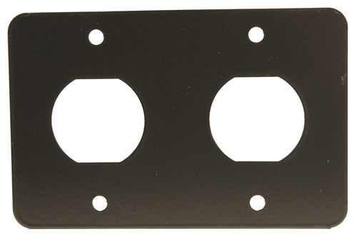 Mounting Double D-Hole Plate