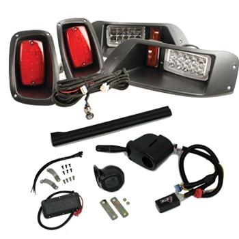 Premium GTW Adjustable LED Light Kit - For EZGO TXT