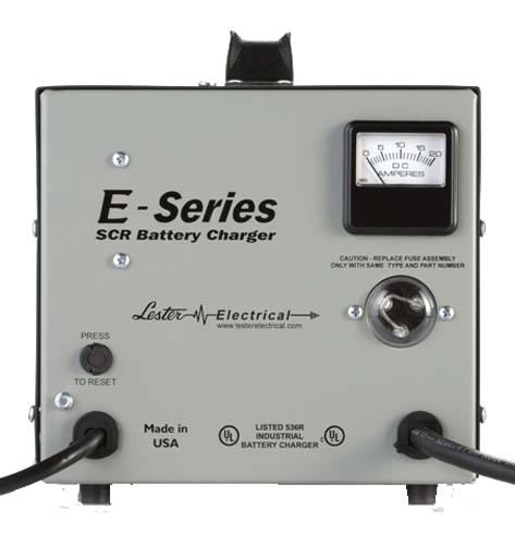 "CHARGER, SCR ""E"" SERIES, 36V 25A; LESTER"