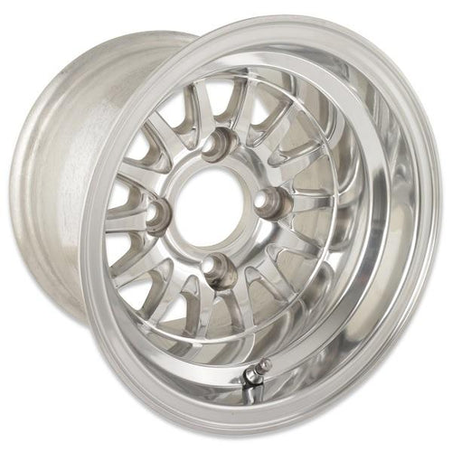 10X7 Medusa Polished Wheel W/Center Cap (3:4 Offset)