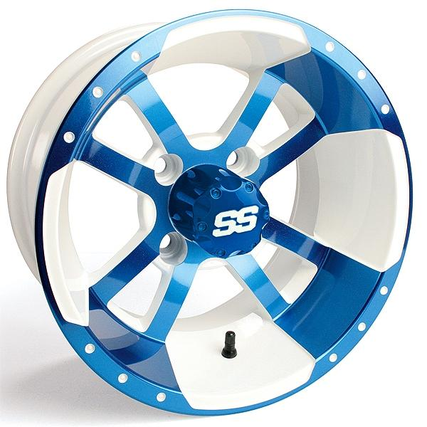 10x7 Blue / White SS Storm Trooper Wheel (3:4 Offset)
