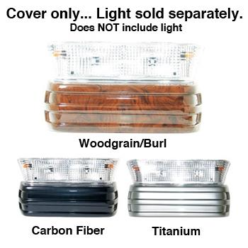 BUMPER COVER, PRECEDENT LIGHT KIT, REGAL BURL