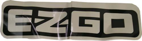 Decal (E-Z-GO) large EZ09-up ST400