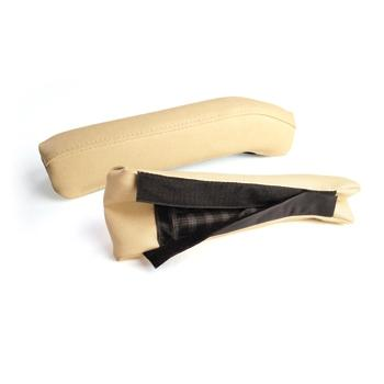 ARM REST CUSHION SET, FRONT, EZ TAN