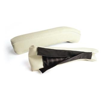ARM REST CUSHION SET, FRONT, YAM IVORY