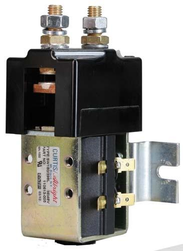 Solenoid; 36 Volt High Amp Curtis, SW180 w/Bracket