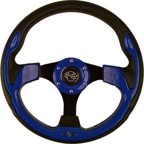 Blue Rally Steering Wheel
