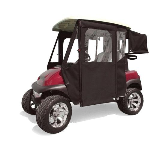 Door Max Sunbrella Enclosure for EZGO RXV - Forest Green