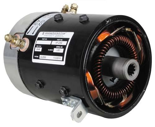 MOTOR, AMD SERIES 48V 11 HP; CC HIGH TORQUE (GN1-4001)