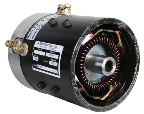 MOTOR, EZ AMD SERIES 36V, 3.4HP@3300RPM EZ
