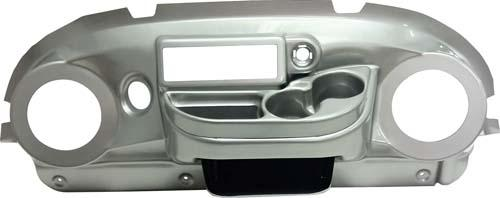 Club Car Precedent Brushed Sterling Elite Dash (Years 2004-2008)