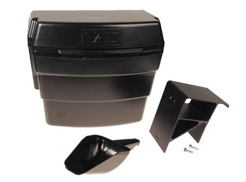 SAND BUCKET & SCOOP,EZ,BLACK