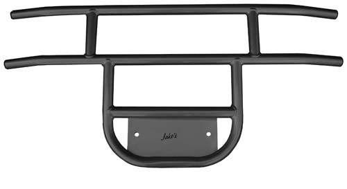 BRUSH GUARD FRONT TUBULAR (Black) CC 81-up