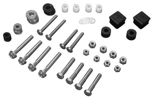 HARDWARE KIT, FOR OEM TOP,EZ 94-UP MED/TXT