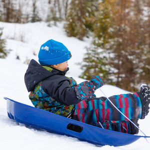 "4 pack Snow Kids 35"" Toboggan Sled"