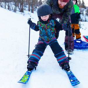 Lucky Bums Toddler Kids Beginner Snow Skis
