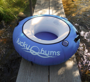 Lucky Bums Catchin' Rays Heavy Duty River Floating Tube