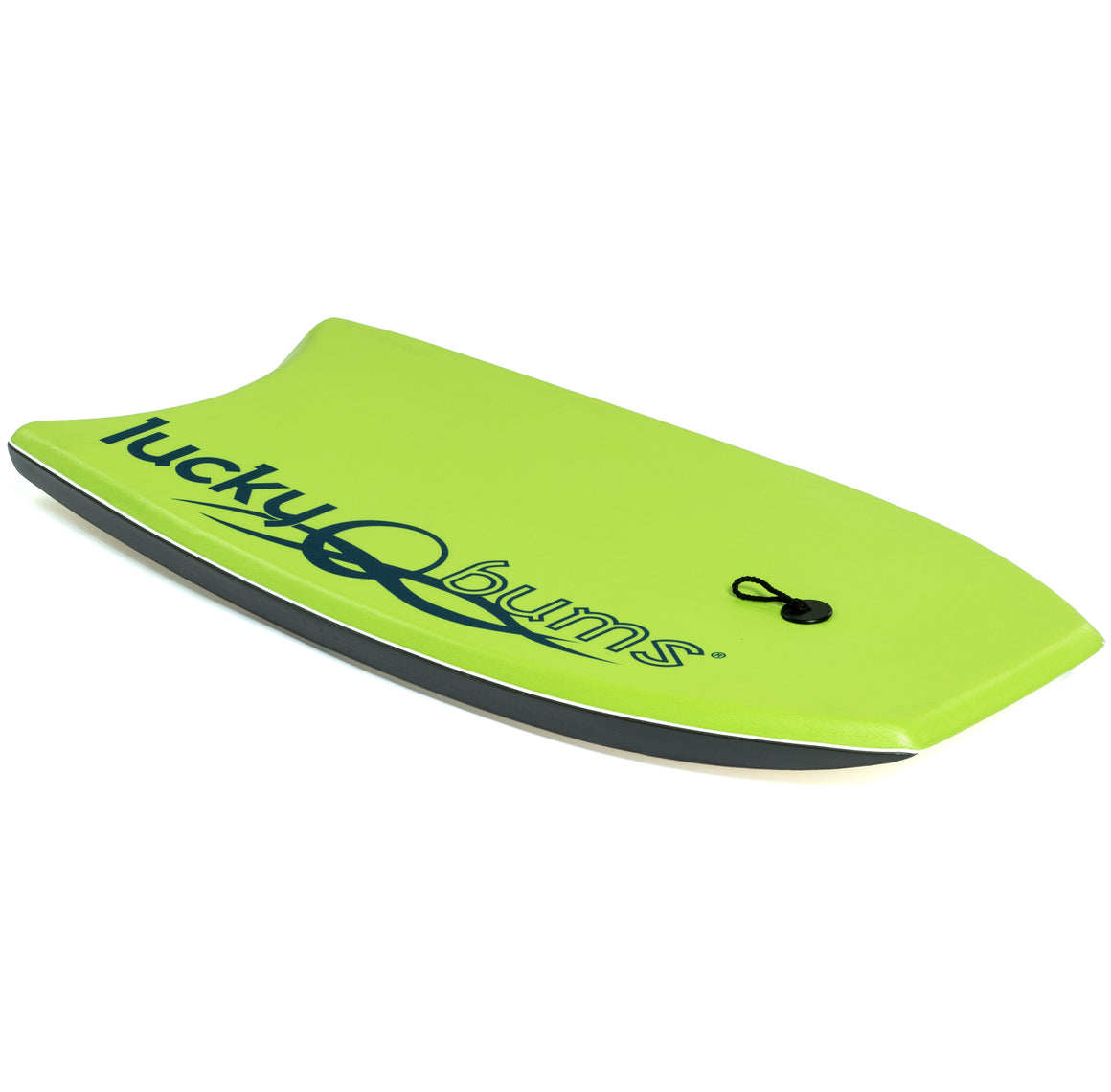 Lucky Bums Body Board for Kids and Adults, Green
