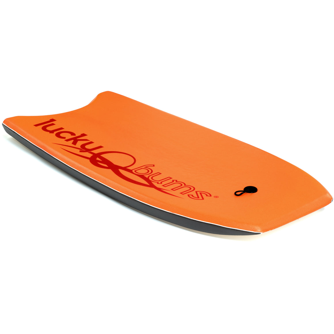 Lucky Bums Body Board for Kids and Adults, Orange