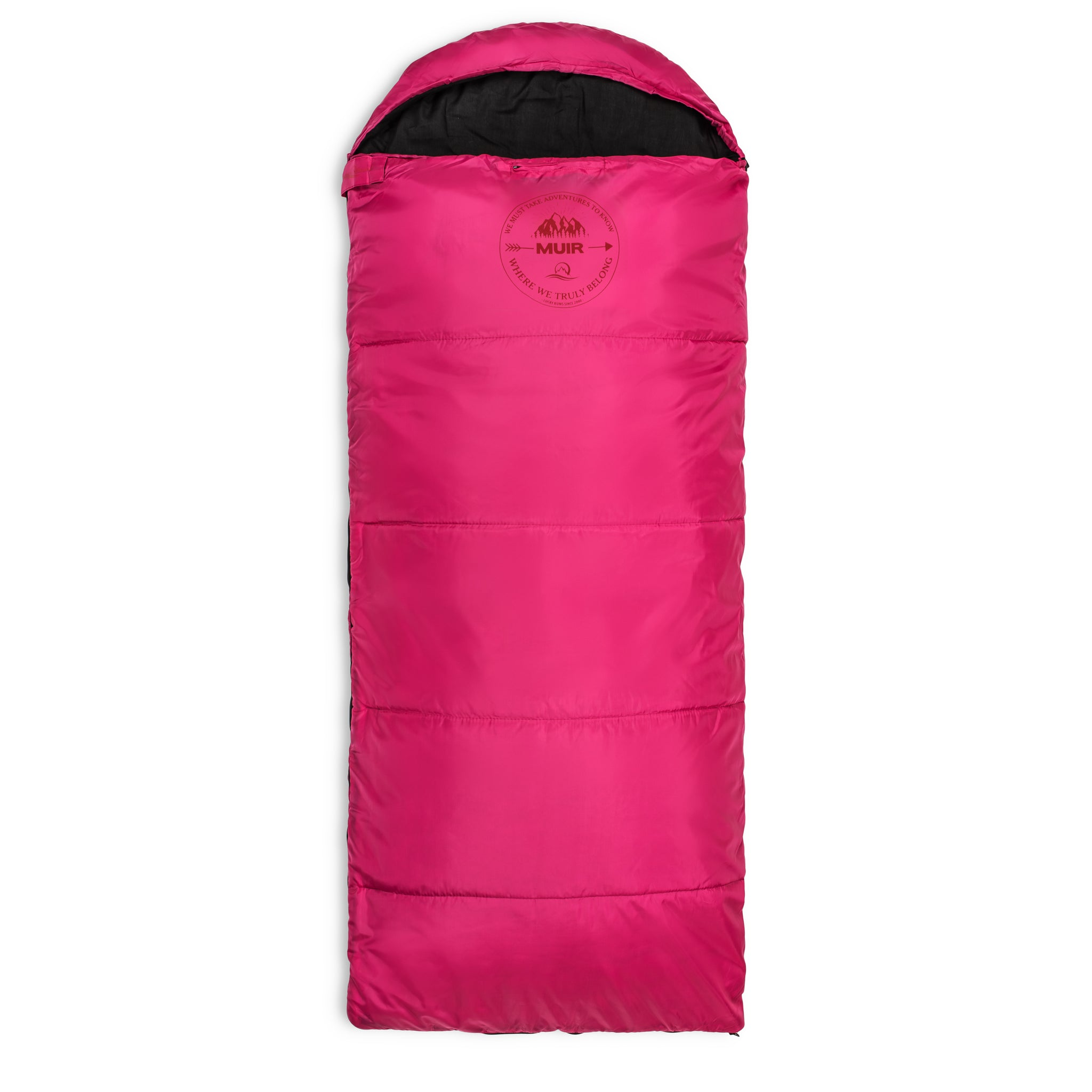 Lucky Bums Youth Muir Sleeping Bag 40F 5C With Compressing Carry
