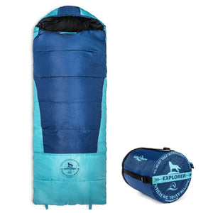 Lucky Bums Explorer 30F Youth Envelope Style Sleeping Bag