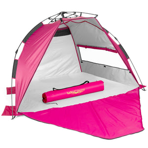 Lucky Bums Easy Pop Up Beach Tent Sun Canopy